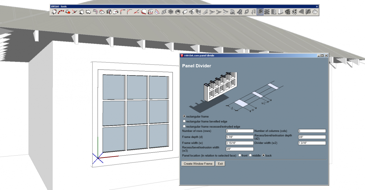 1001bit Tools Make Custom Windows 2