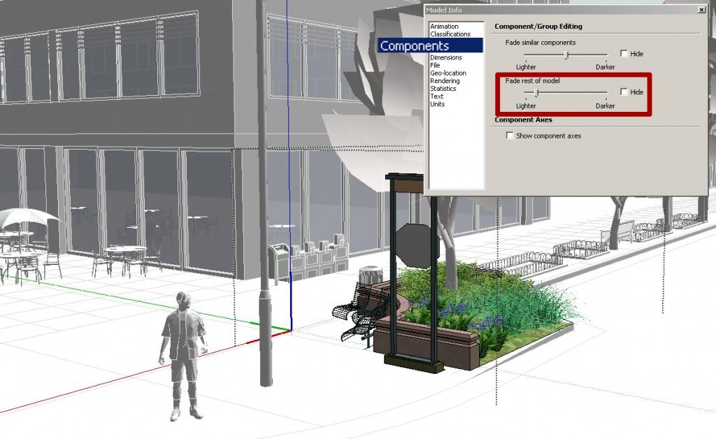 SketchUp Model Info Window 02