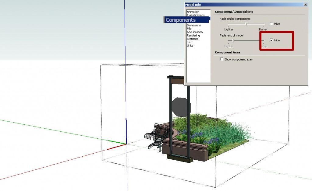 SketchUp Model Info Window 03