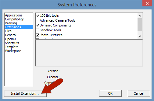SketchUp Extensions SUC03