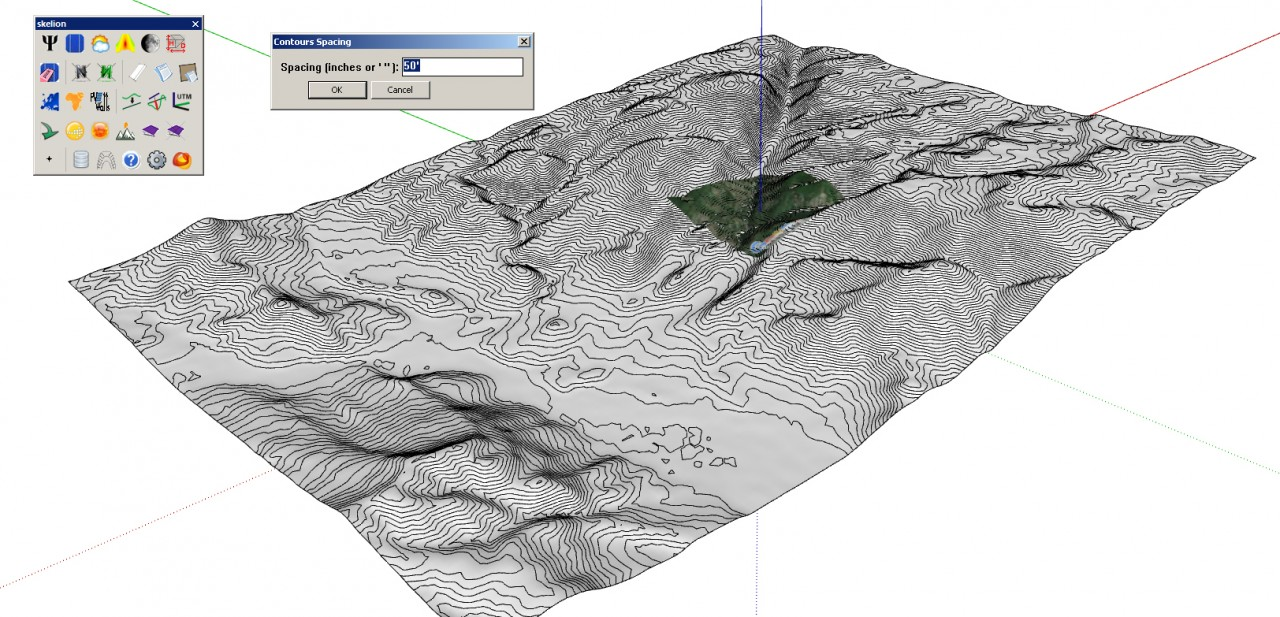 topography in sketchup 28 images modeling topography w dwg contour map and sandbox tools