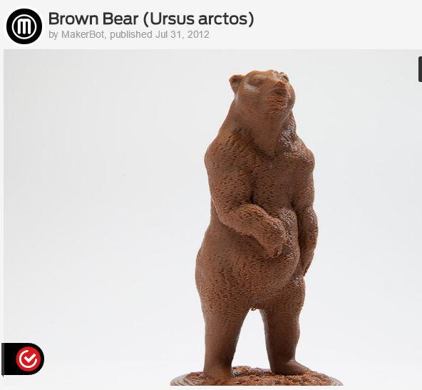 3d printing Benji Bear 01