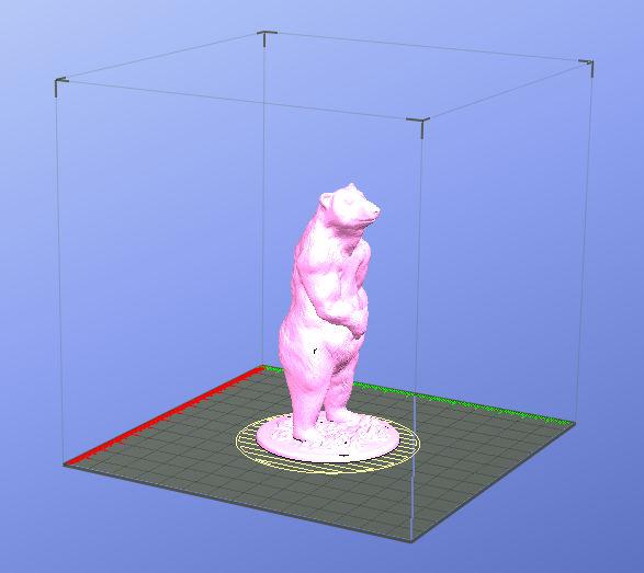 3d printing Benji Bear 09