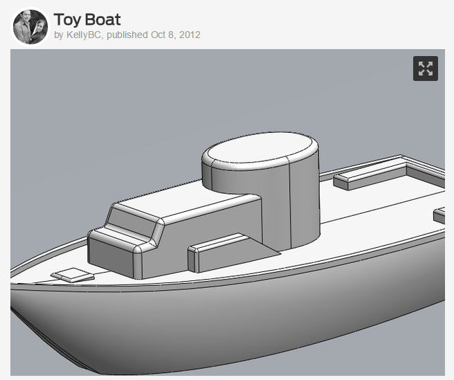 3D Printing Boat 01