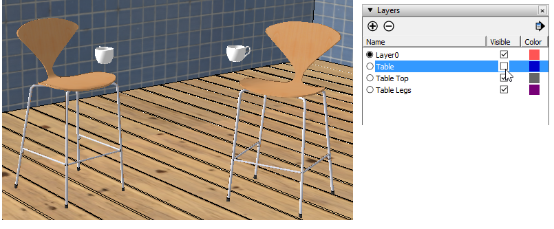 Sketchup Layers Groups Components 13a