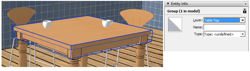 Sketchup Layers Groups Components 18a