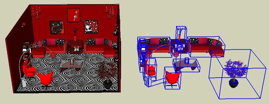 SketchUp Layer Options 17