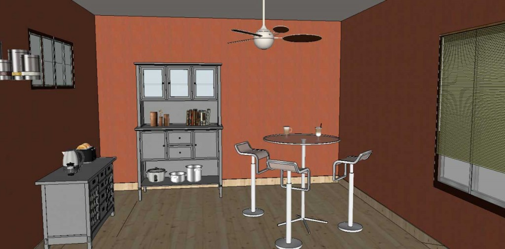 adding wall art in sketchup - Posters 02