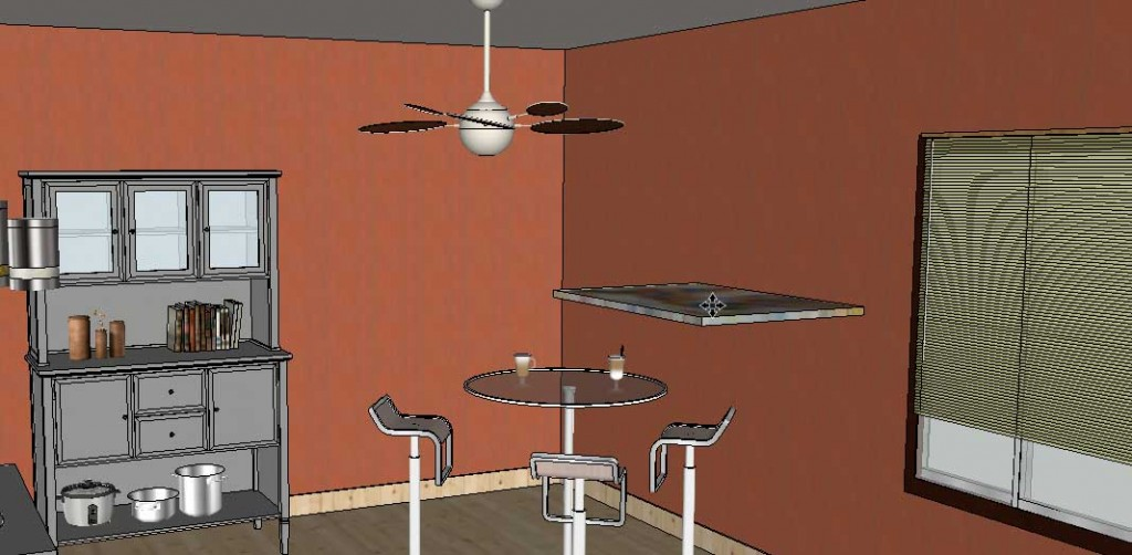 adding wall art in SketchUp Posters 11