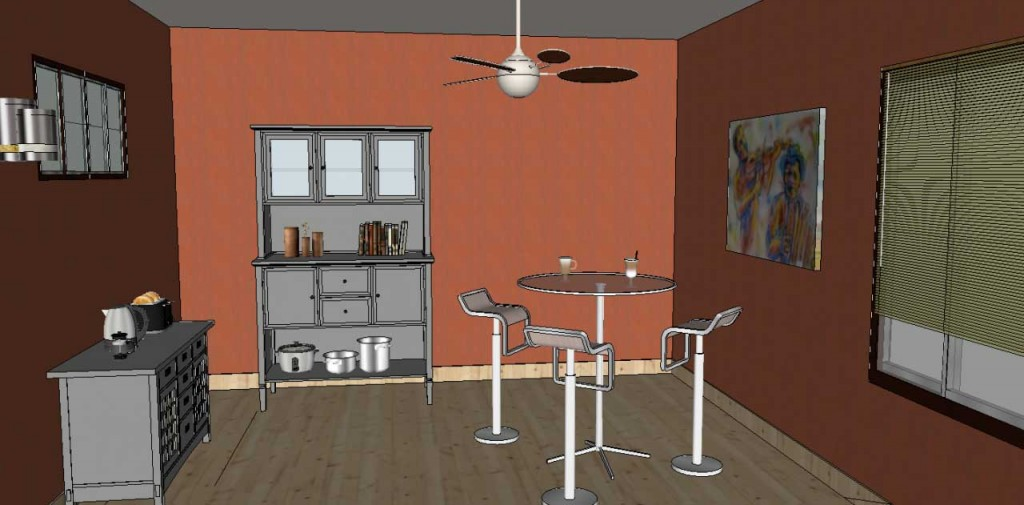 adding wall art in SketchUp Posters 23