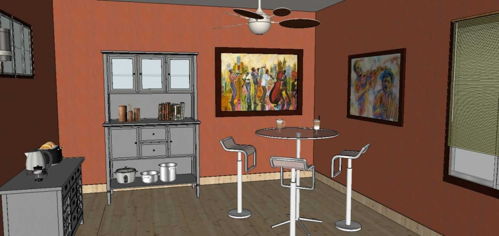 adding wall art in SketchUp Posters 38