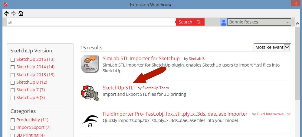 SketchUp STL Extension: Part 1 - Model Export - Daniel Tal