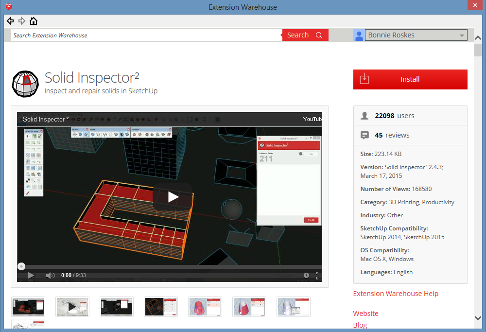 3D Printer Ready Model SolidInspector1
