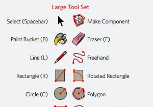 SketchUp's Quick Reference Card