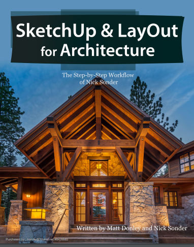 Book Review: SketchUp and LayOut for Architecture - Daniel Tal