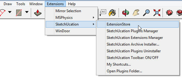 New in SketchUp 2017: Installing SketchUcation ExtensionStore