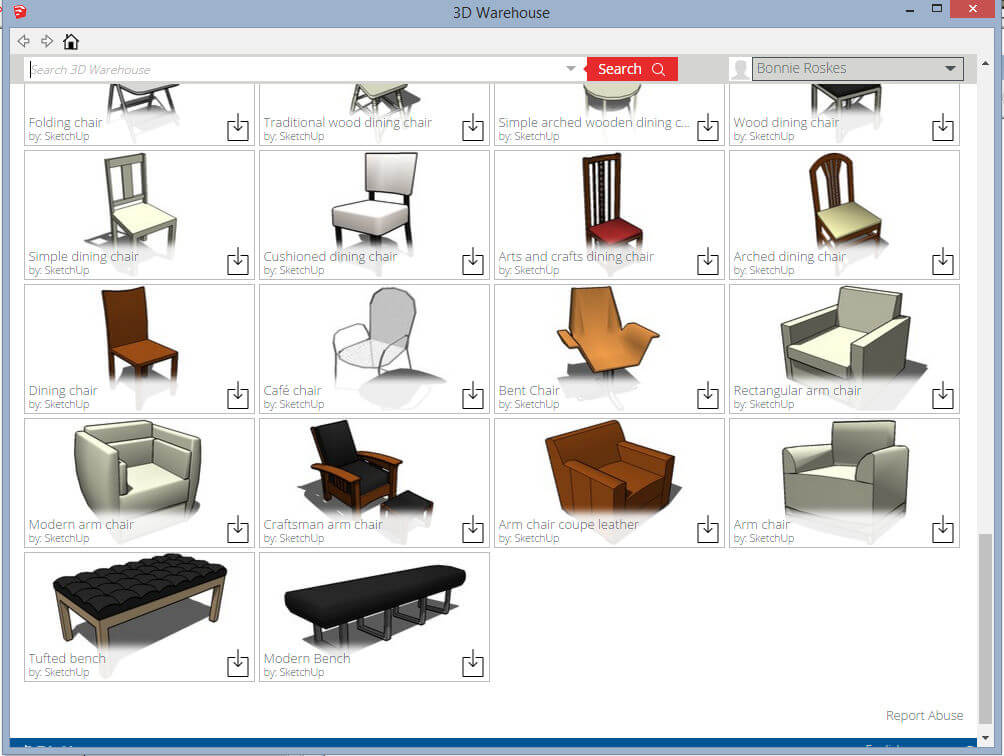 Quality Components: Part 1- SketchUp Collections - Daniel Tal