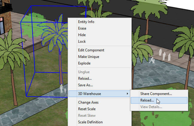 Reloading Components from the 3D Warehouse - Daniel Tal