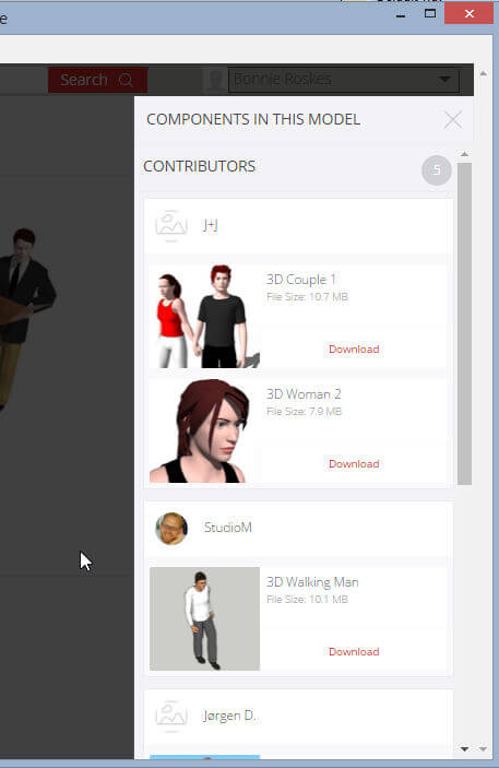 Another Great New 3D Warehouse Feature: Download Components
